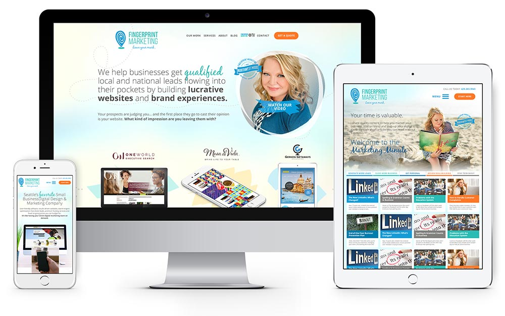 custom website design responsive