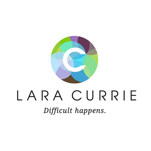 Lara Currie logo design