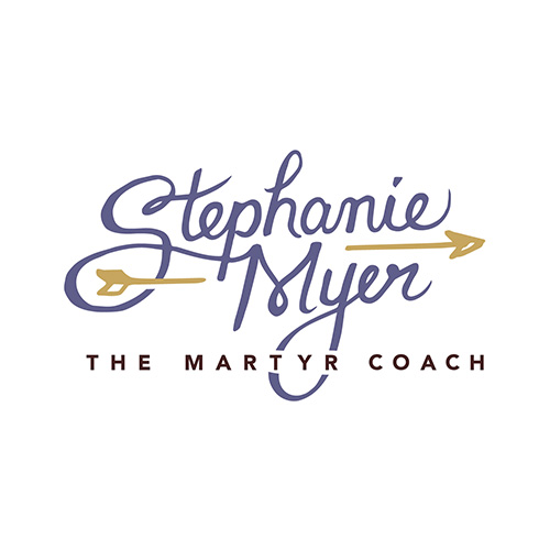 Stephanie Myer the Martyr Coach logo design