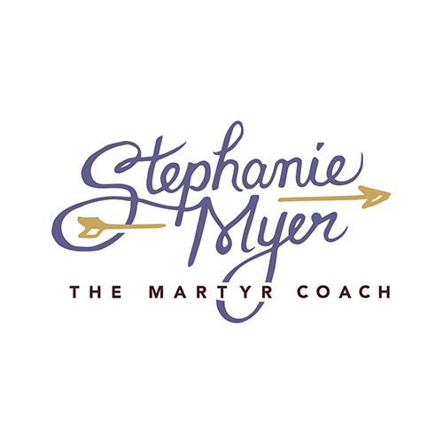 Stephanie Myer the Martyr Coach logo design