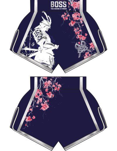 Thai shorts design mockup