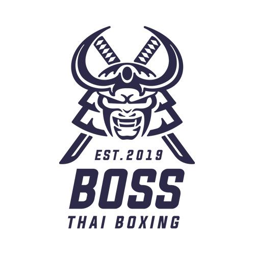 Boss Thai Boxing logo design