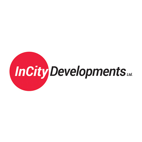 InCity Developments logo design