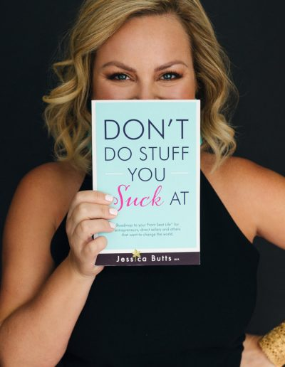 Book cover design of Don't Do Stuff You Suck At