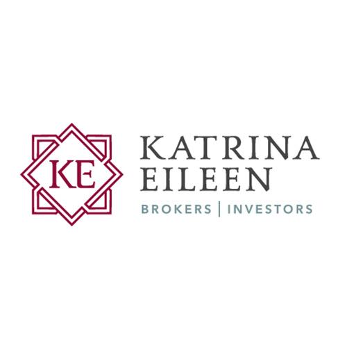 Katrina Eileen Broker Investor logo design