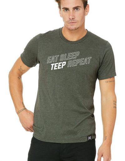 Eat Sleep Teep Repeat t-shirt