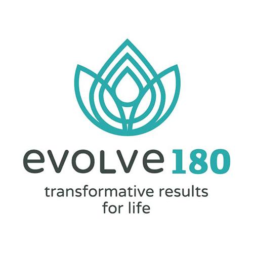 evolve 180 logo design