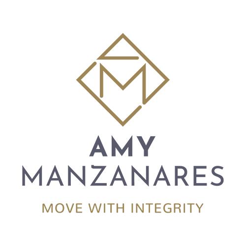 Amy Manzanares Realtor logo design