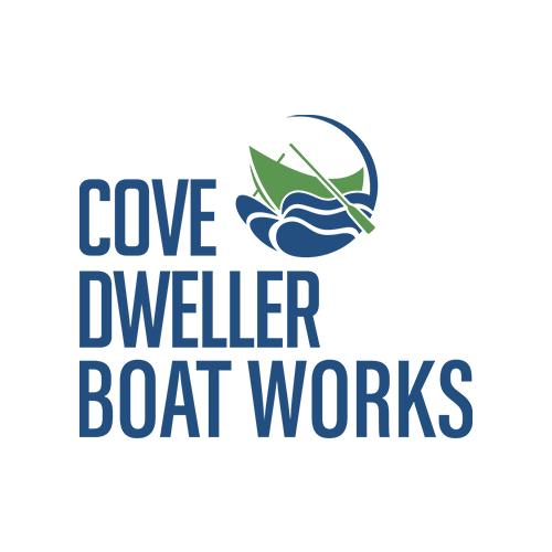 Cove Dweller Boat Works logo design